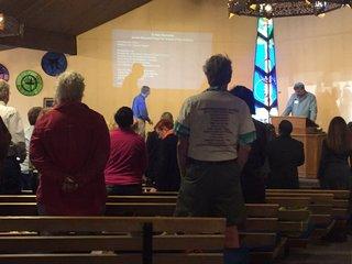 Different faiths unite, talk about gun violence