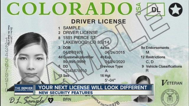 New Look For Colorado Driver Licenses Denver7