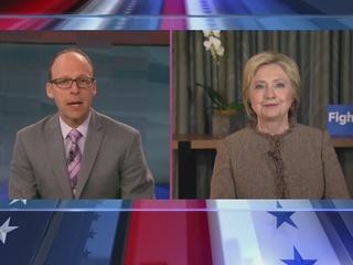 Clinton talks to Denver7 ahead of Super Tuesday