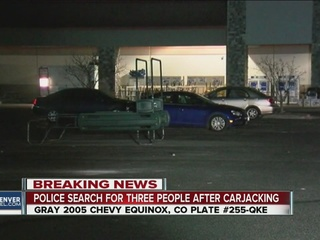 Police searching for 3 carjackers with long guns