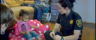 2-year-old calls 911 for wardrobe emergency