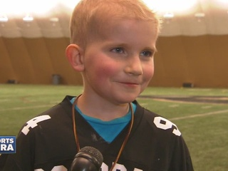 7-year-old adopted by CU women's Lacrosse team