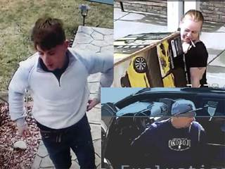 Know them? Suspected thieves caught on camera