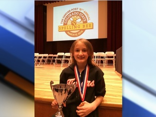 Colorado Spelling Bee champ returns to nationals