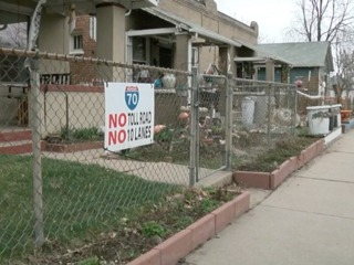 Neighbors sue EPA over planned I-70 expansion
