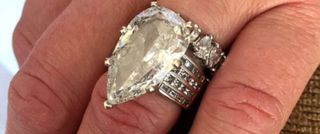 Trash company finds couple's $400k wedding ring
