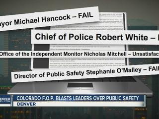 Police union concerned about Denver crime
