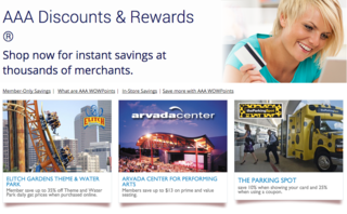Save money on your next adventure with AAA