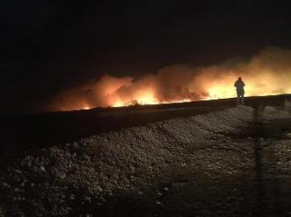 Ranchers deliver hay to Kansans affected by fire