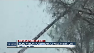 Family still without power 6 days after blizzard