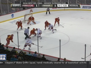 The DU Pioneers are returning to Frozen Four