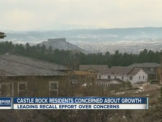 Castle Rock group want to recall mayor