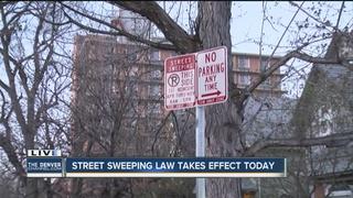 Denver street sweeping will affect parking