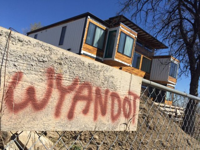 denver couple says building shipping container home was cheaper than the norm