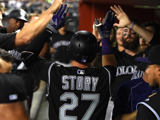 hiSTORY: Trevor Story has most HRs in 6 games