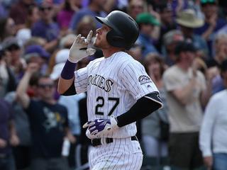 Trevor Story hits 6 home runs, sets new record