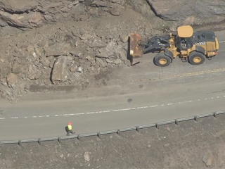 Clear Creek Canyon reopens after rock slide