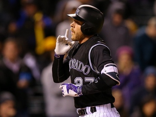 Rockies beat Mariners 10-7, Story homers 4 runs