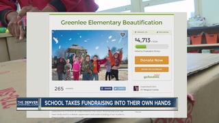 School crowd funds for school improvements