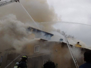 Federal Heights apt. building goes up in flames
