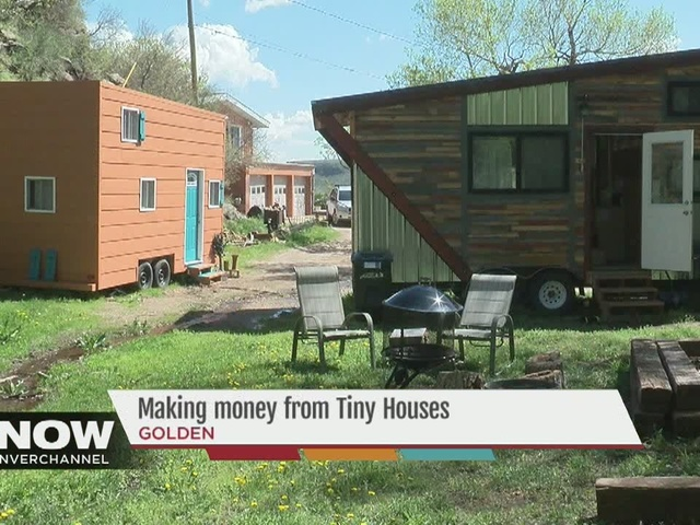 Tiny house, big dreams: Single mom in Golden rents out tiny house to bring in extra income