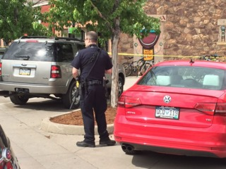 Suspect shot after firing gun into Boulder Creek