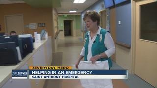 Volunteer who rescued baby still helps at ER