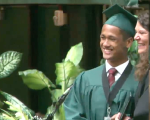 Fossil Ridge HS homeless teen graduates, thrives