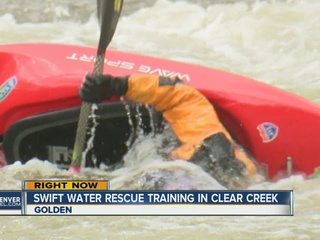 Close call for Clear Creek kayaker