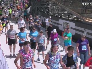 10:50-10:55 AM Bolder Boulder Finishers