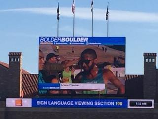 Bolder Boulder civilian winner finishes in 30:20