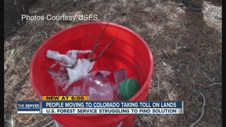 Trashed campsites: a growing issue in Colorado