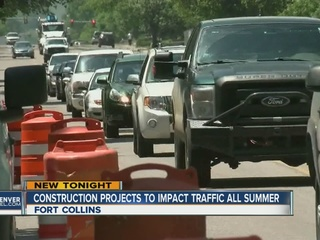 Ft. Collins drivers facing traffic headaches