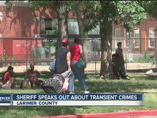 Larimer County Sheriff: Transients filling jail