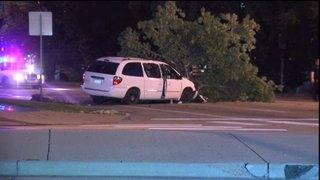 Police investigating shooting and car crash