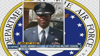 Nelson accused of lying about Air Force honors
