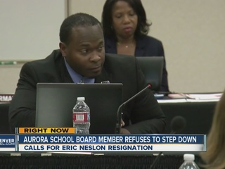 Eric Nelson refuses to resign APS school board