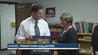 Former employee comes back to volunteer