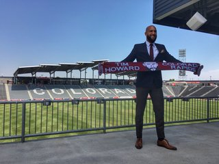 Tim Howard joins Colorado Rapids