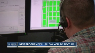You can now text 911 in Denver