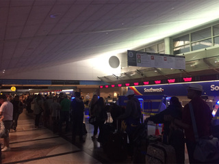 Travel Nightmare At Dia As Southwest Airlines Issues
