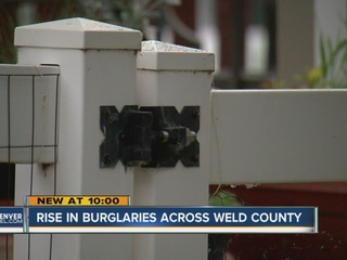 Home break-ins spike in Weld County