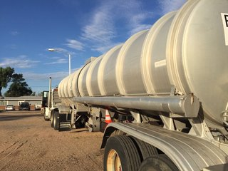 Tanker arrives in Hugo after THC found in water