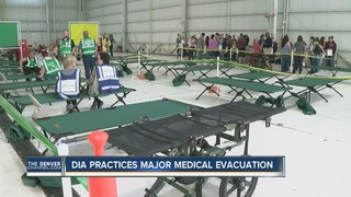 Disaster drill held at DIA, local hospitals