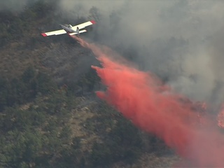 Wildfire south of Carter Lake forces evacuations