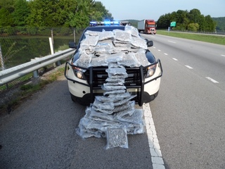 100 lbs. of Colorado pot seized at traffic stop
