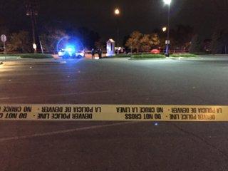 Pedestrian killed crossing Alameda Avenue