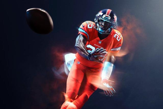 official color rush jerseys