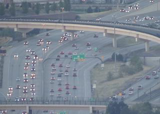 Commute times in Denver are on the rise