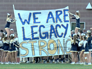Legacy takes field for homecoming after crash